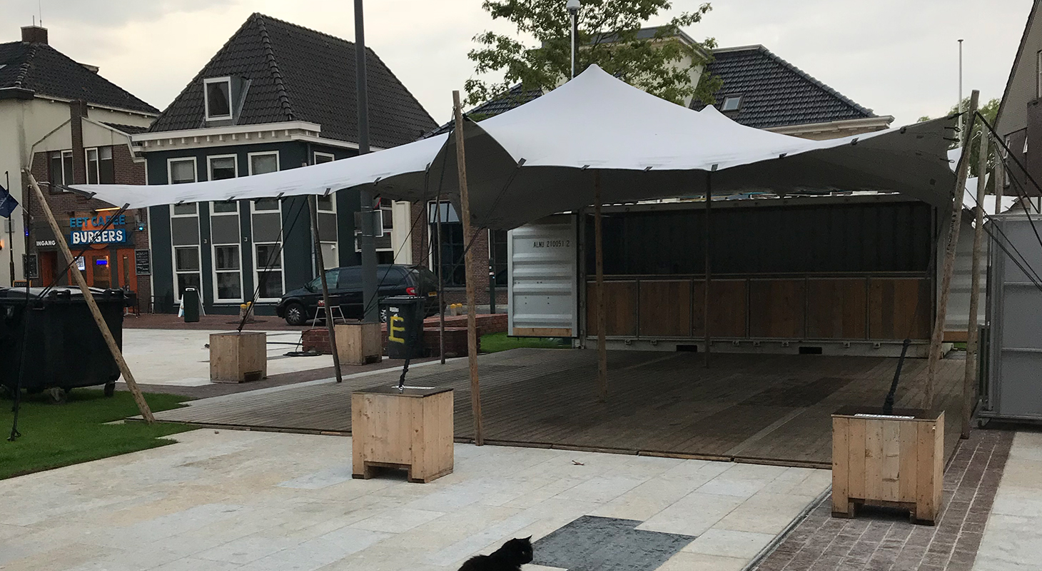 Eventcontainer Prodome Event Tentverhuur