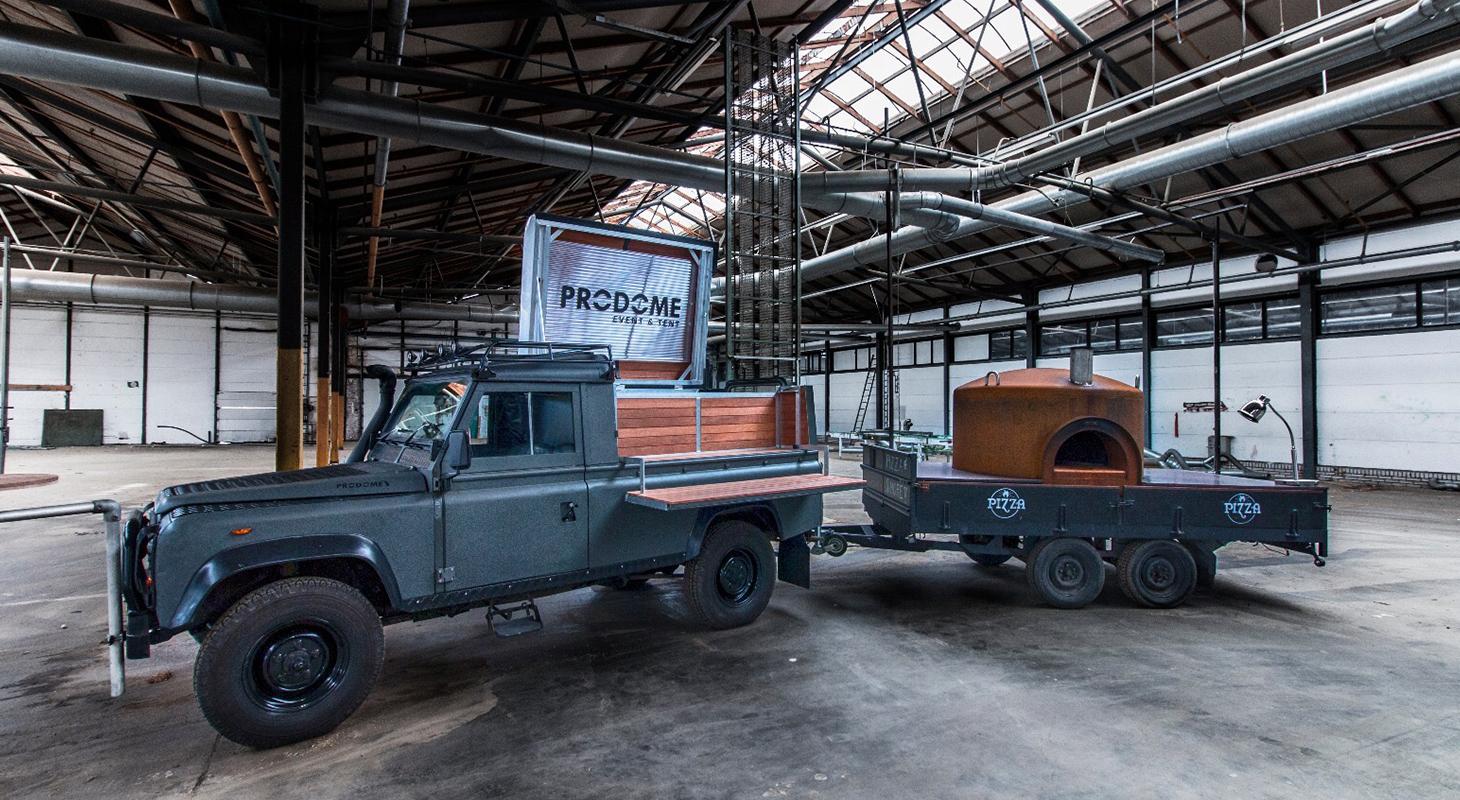 Food truck produme event en tentenverhuur