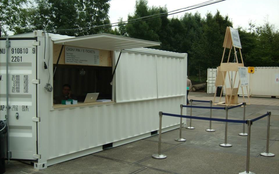 Foodtrucks eventcontainers Prodome event tent verhuur