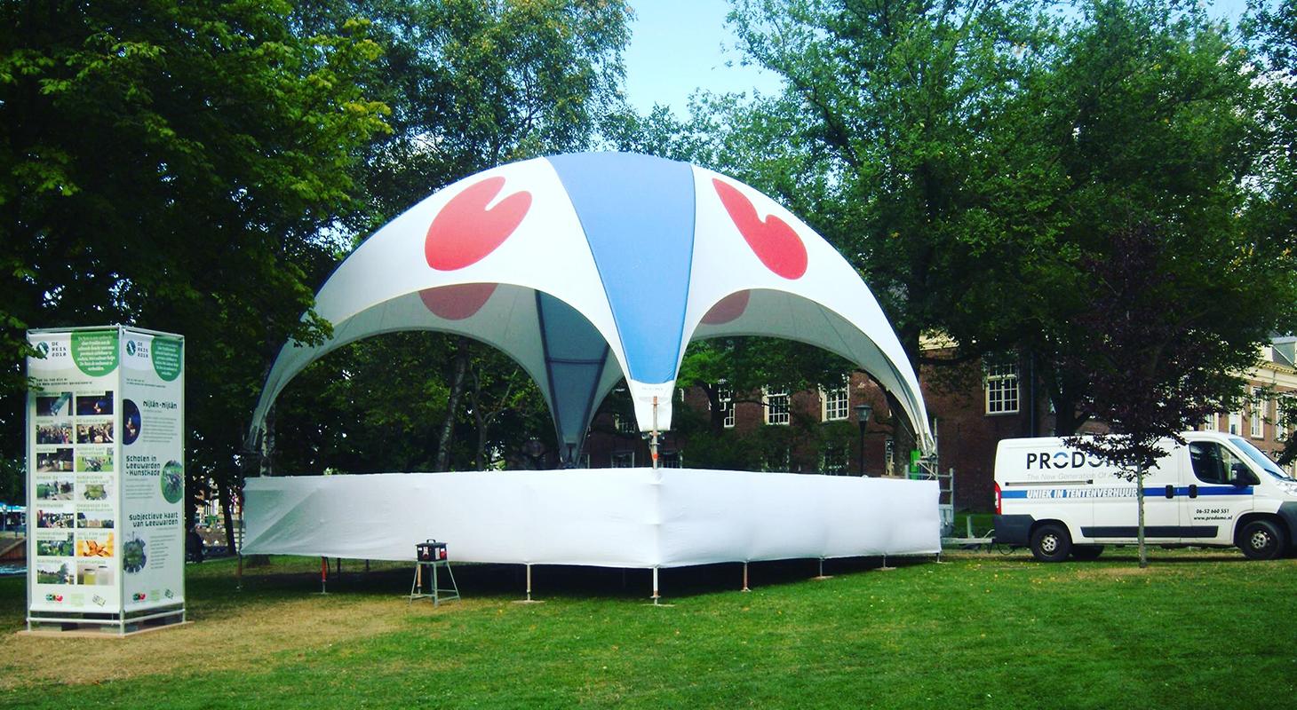 Friesland dome tent prodome event tentenverhuur
