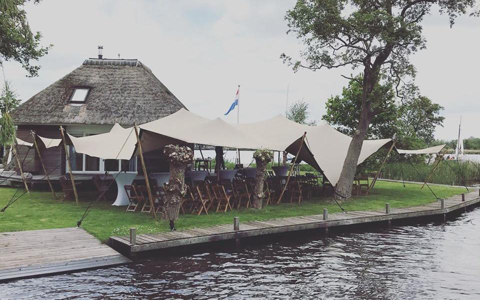 Stretchtent Friesland Prodome Bruiloft